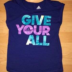 Girls Adidas shirt